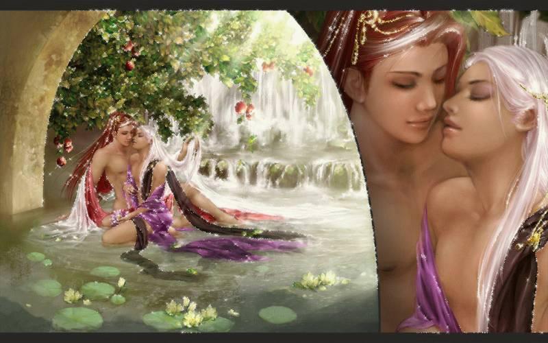 Картинка Красивая романтика из коллекции Картинки анимация Любовь и романтика