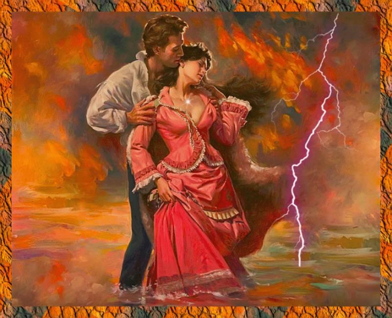 В объятиях любимого.Любовь и романтика