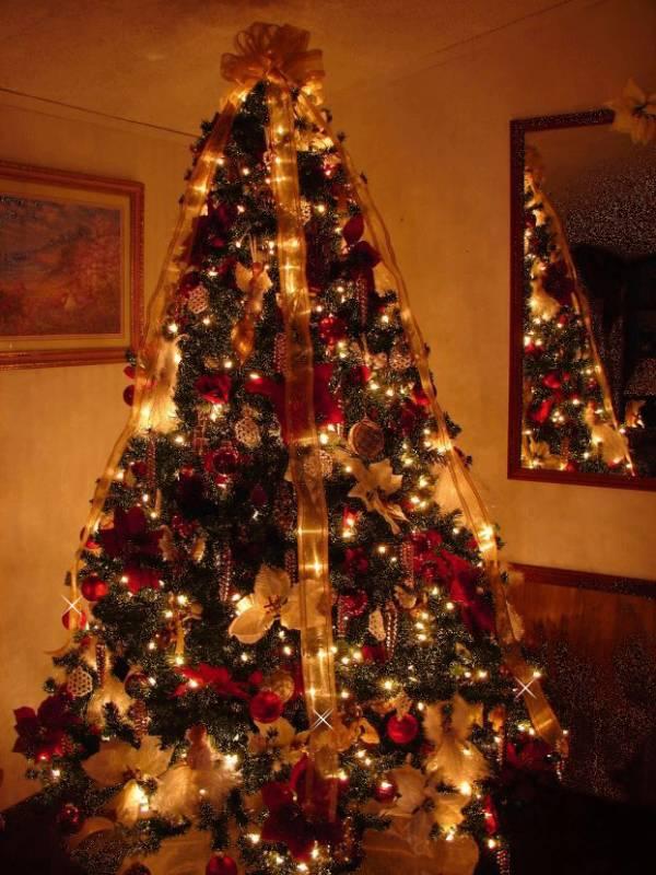 Картинка Новогодняя елка из коллекции Картинки анимация Новый год и Рождество 2019