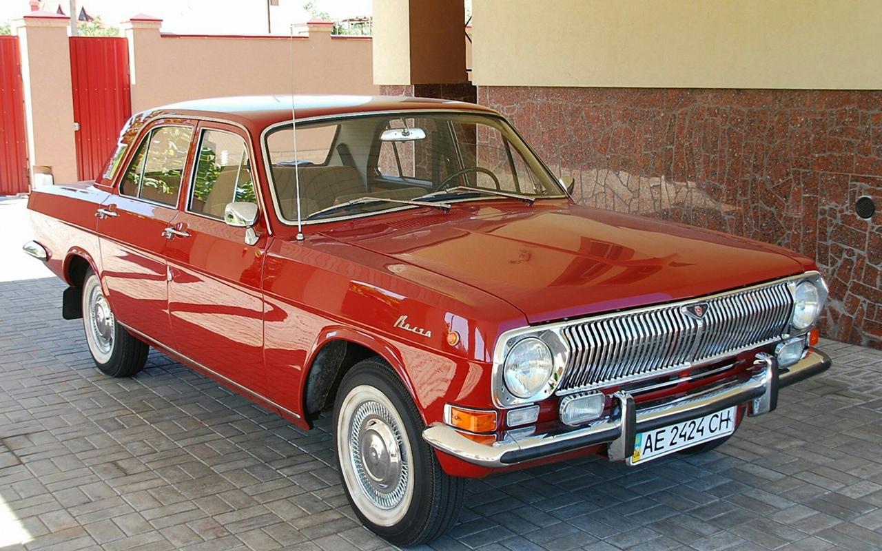Советская Волга.Автомобили