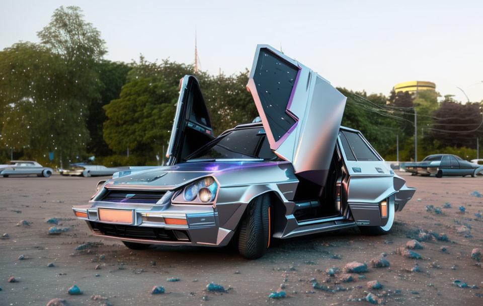 Тюнингованная Лада Приора - Автомобили