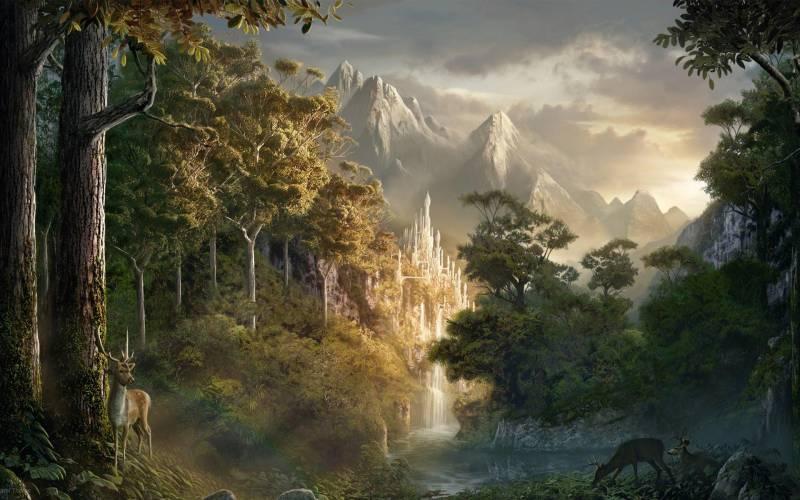 Великолепный живописный пейзаж - Природа