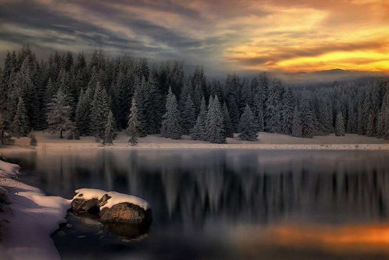 Зимний пейзаж - Природа