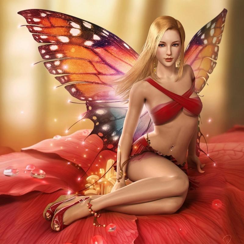 Красная бабочка - Фэнтези
