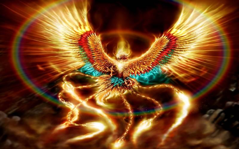 Обои Огненная птица - Фэнтези