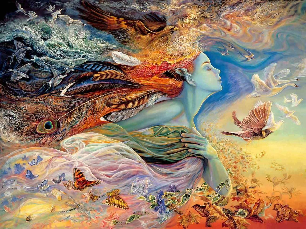 Картинка Полет Бабочки из коллекции Обои для рабочего стола Фэнтези