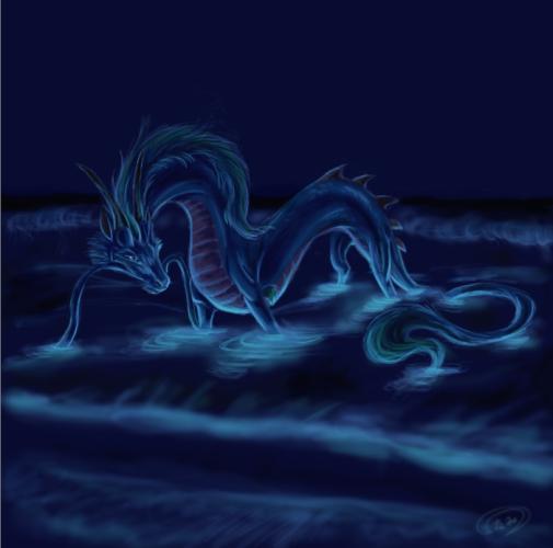 Водяной Дракон.Фэнтези