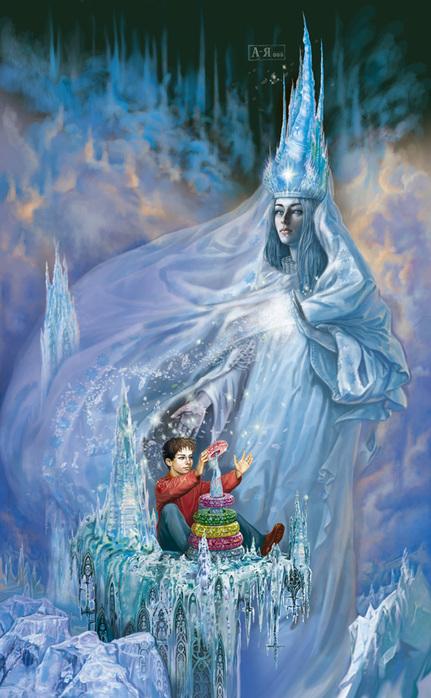 Картинка Снежная королева из коллекции Обои для рабочего стола Фэнтези