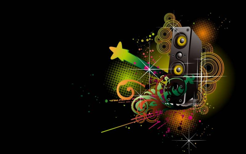 Музыкальная абстракция.Абстракции