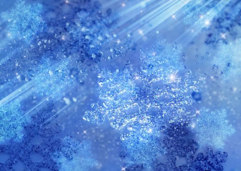 Ледяной фон - Абстракции