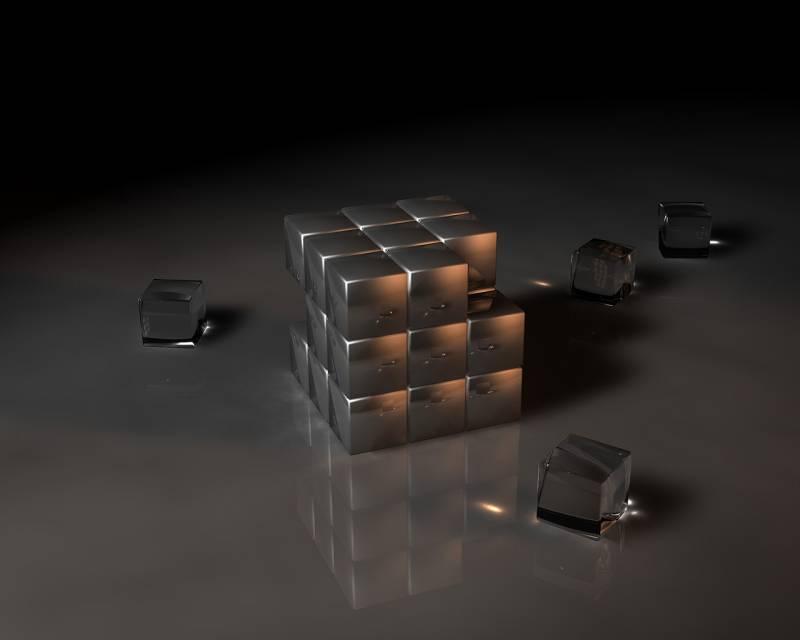 Кубик рубик.Абстракции