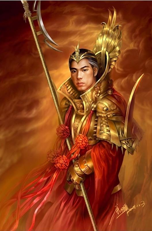 Китайский воин - Искусство Живопись