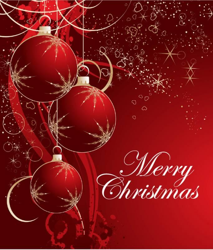 Merry Christmas.Новогодние обои 2017