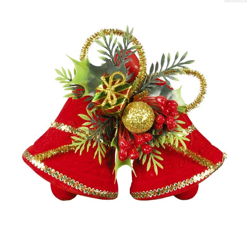 Рождественские колокольчики.Новогодние обои 2018