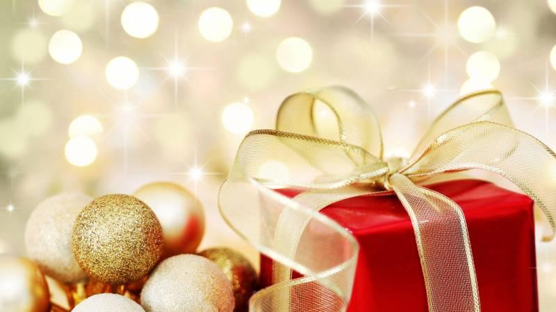 Сверкающий Новый год 2019 - Новогодние обои 2019