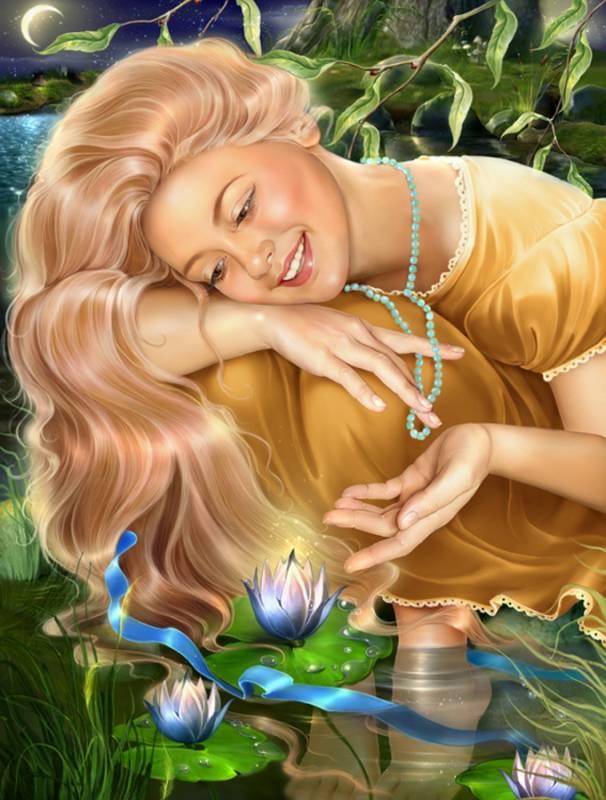 Лилии.Иллюстрации