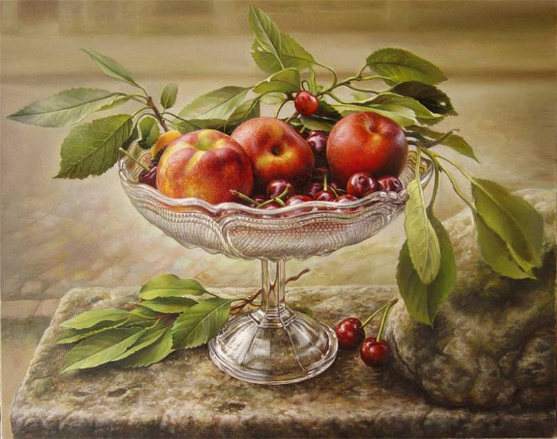 Яблоки - Иллюстрации