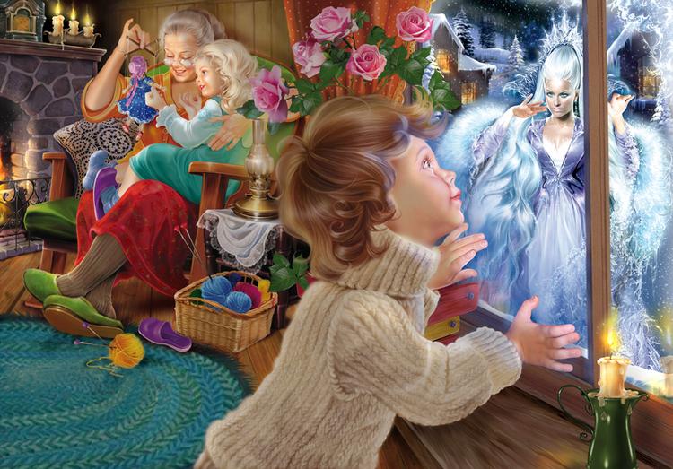Снежная королева.Иллюстрации