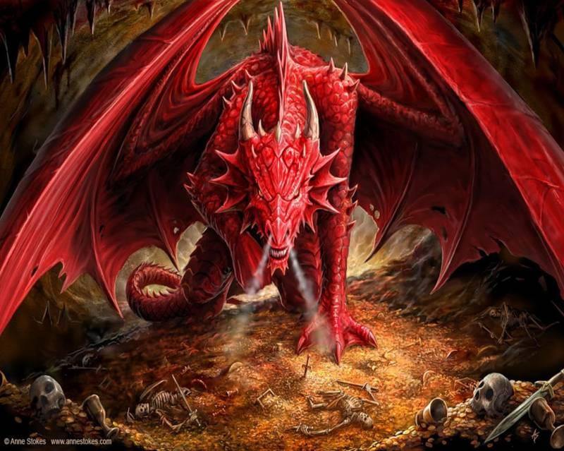 Красный Дракон.Иллюстрации