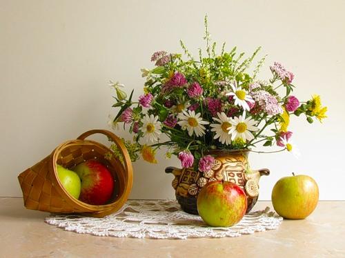 Яблочный Спас.. - Открытки к праздникам