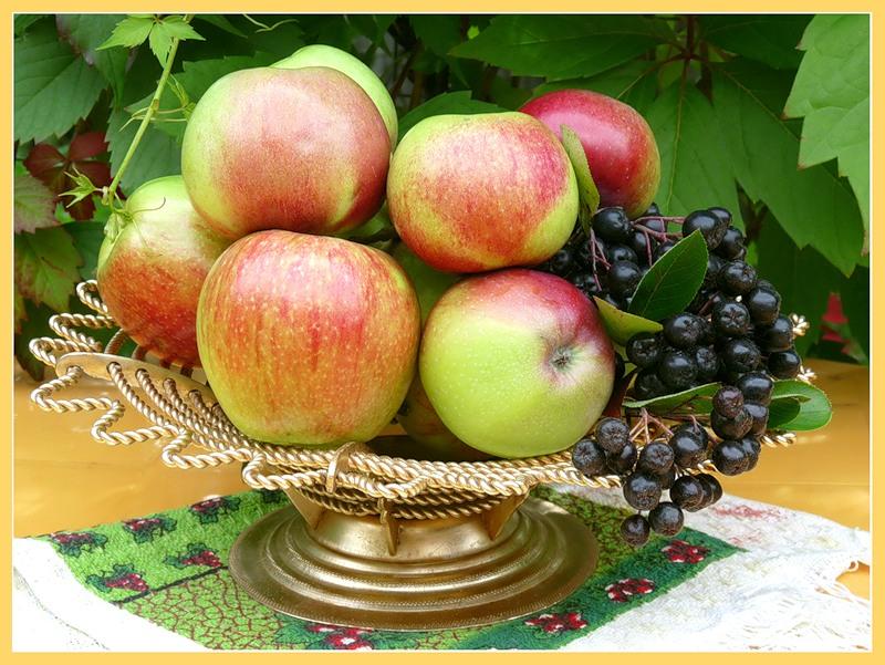 Всех с яблочным спасом.Открытки к праздникам