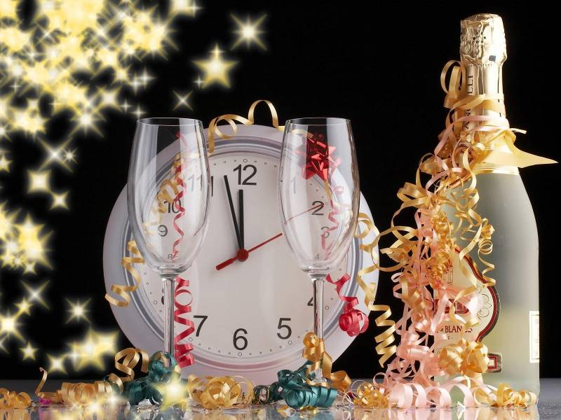 Открытка новогодняя.С Новым годом 2017